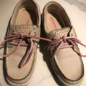 Sperry big girls loafers size 3